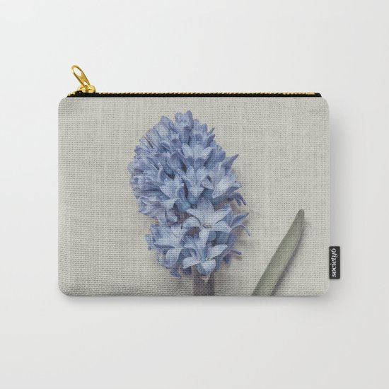 One Light Blue Hyacinth Carry-All Pouch