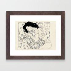 T-S.G. (Sleep Well) Framed Art Print