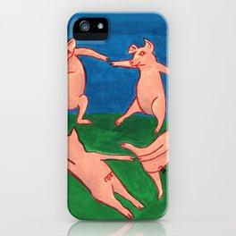 Pig Dance/Heathens iPhone Case