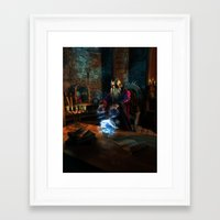 wizard Framed Art Prints featuring Wizard by Digital Dreams