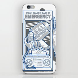 Emergency Hip Hop to the Rescue!  iPhone Skin