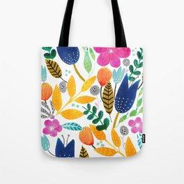 Flower Mayhem Tote Bag