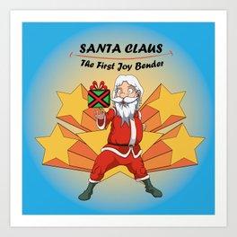 Santa Claus - the first Joy Bender Art Print
