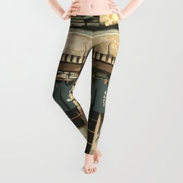 Japan - 'The Old Grocery Store' Leggings