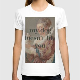 My Dog Doesn't Like You T-shirt