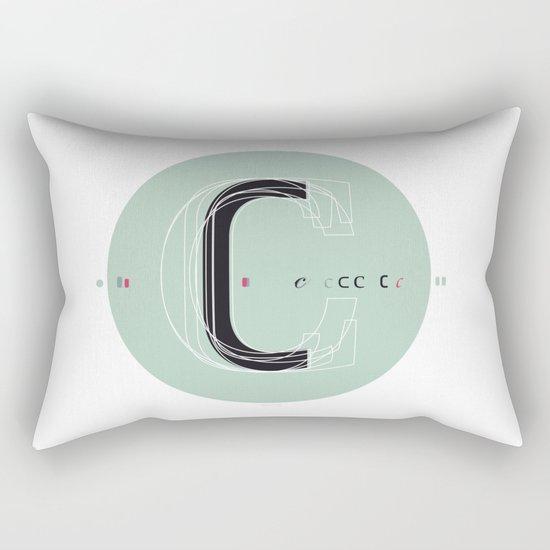 C c Rectangular Pillow
