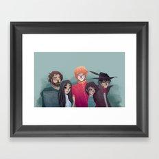 Two Rivers Framed Art Print