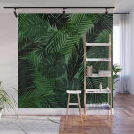 Green Foliage Wall Mural