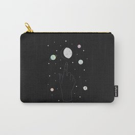 Whisper - Moon Phase Illustration Carry-All Pouch