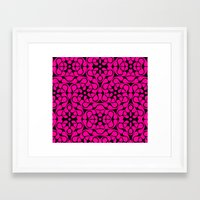 calavera Framed Art Prints featuring Calavera by jikama azpeitia