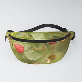 Sweet Raspberry Branches #decor #society6 Fanny Pack