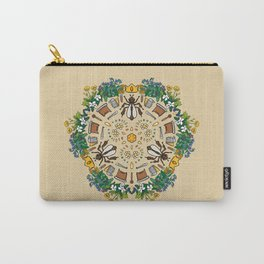 Beekeeping Mandala Carry-All Pouch