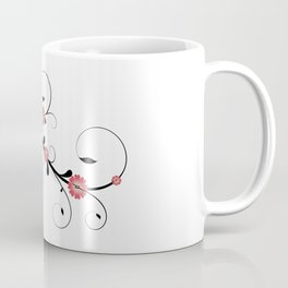 Floral Vine Coffee Mug
