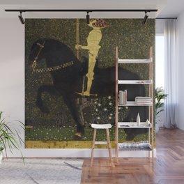 Gustav Klimt - Golden Rider Wall Mural