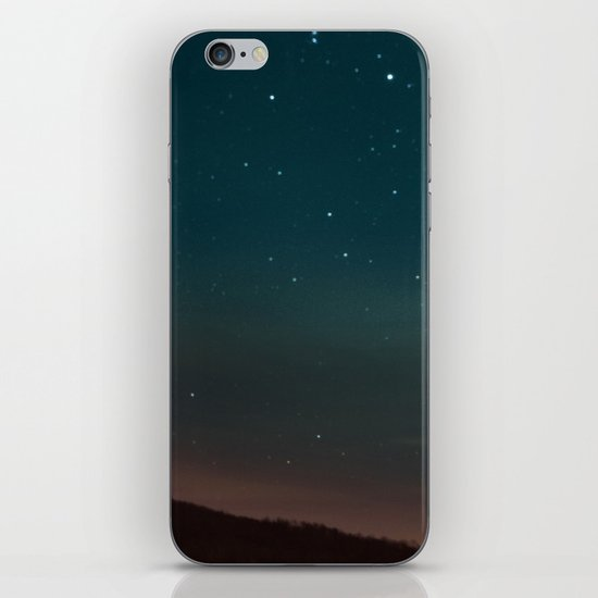 Kissing Under the Stars iPhone & iPod Skin