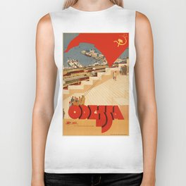 Vintage poster - Odessa Biker Tank