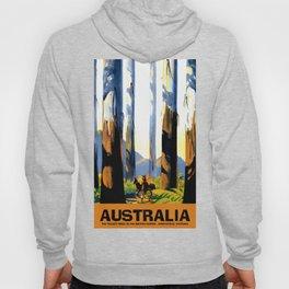 Vintage Australia travel tall trees Marysville VIC Hoody