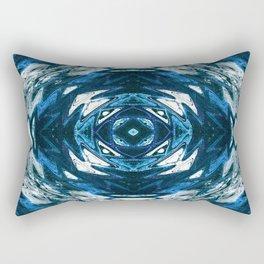 The Native in  Blue.... Rectangular Pillow