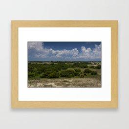 Shackleford Banks Panorama Framed Art Print