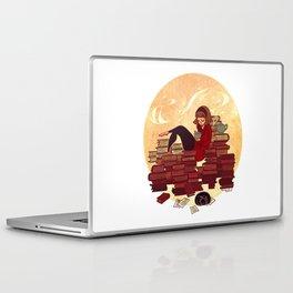Book Lover Girl Laptop & iPad Skin