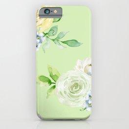 Pastel Floral Pattern 10 iPhone Case
