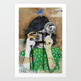 little moments Art Print