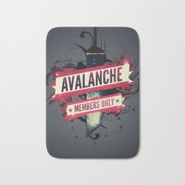 Final Fantasy VII - Avalanche Member's Only Bath Mat