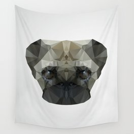 Mops Dog Wall Tapestry