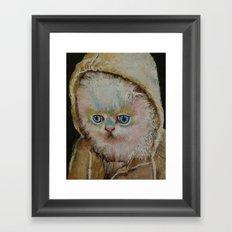 Eskimo Kitten Framed Art Print