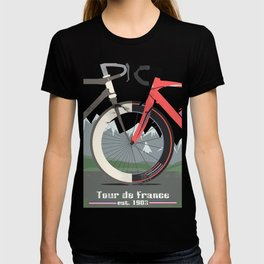 Tour De France Bicycle T-shirt