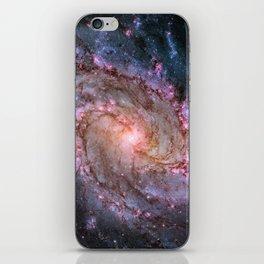 Spiral Galaxy M83 iPhone Skin