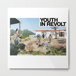 Youth In Revolt Metal Print