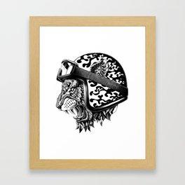 Tiger Helm Framed Art Print