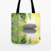 stone Tote Bags featuring Stone by pf_photography