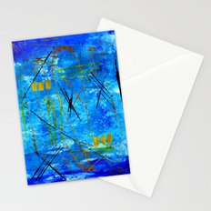 I got the blues Stationery Cards