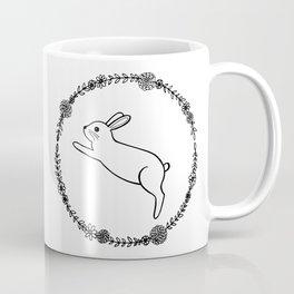 Hopping bunny Coffee Mug