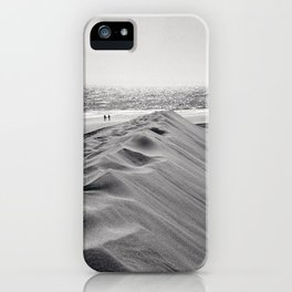 Walking the beach NO1 iPhone Case