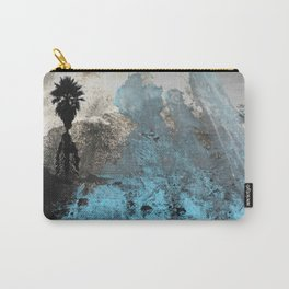 Palm View Grunge Carry-All Pouch