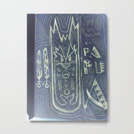 papuatotem Metal Print