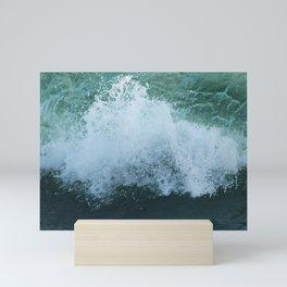 Sea Wave Crest Foam Mini Art Print