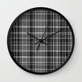 Scottish tartan #35 Wall Clock