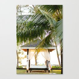 Canopy in Jamaica Canvas Print