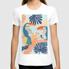 Tropical Jungle Birds T-shirt