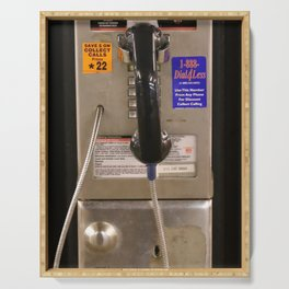 NYC Public Telephone Payphone Serving Tray