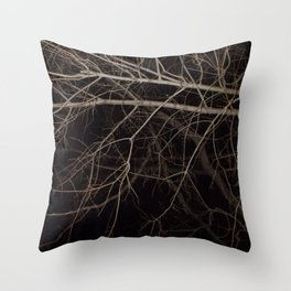 Nature's Veins Throw Pillow