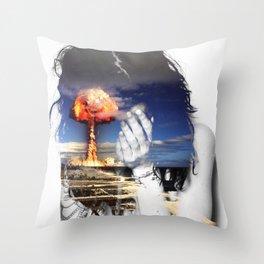 Scenic/ /Disastrous Throw Pillow