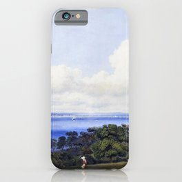 View From St John's, Near Ryde Isle Of Wight - William Turn iPhone Case