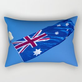 Avalon Airshow - Australian Flag 1 Rectangular Pillow