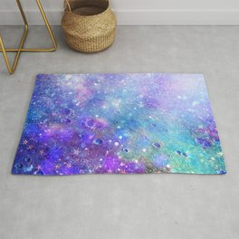 Colorful Deep Space Background Rug