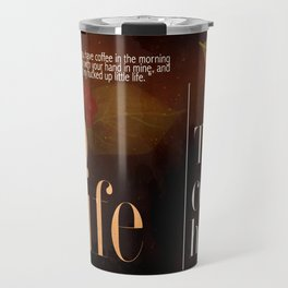 coffee holic Travel Mug